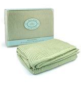 Branberry - Mint Cot Blanket
