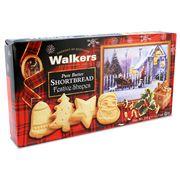 Walkers - Pure Butter Festive Shapes Shortbread 350g