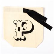 Bag All - Small Letter Bag Initial P