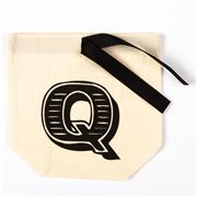 Bag All - Small Letter Bag Initial Q