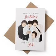 Candle Bark - Beatles Birthday Card