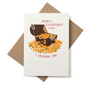 Candle Bark - I Treasure You Valentine's Day Card