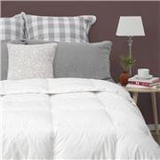 John Cotton - C/Luxury White Duck Feather/Down Duvet Double