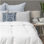 John Cotton - S/Luxury White Goose Feather/Down Duvet Double
