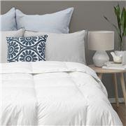John Cotton - S/Luxury White Goose Feather/Down Duvet Queen