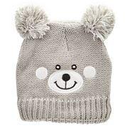 Beanie - Essence Teddy Bear Beanie Kids Grey