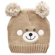 Beanie - Essence Teddy Bear Beanie Kids Tan