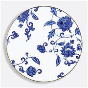 Bernardaud - Domus Prince Blue Coupe Plate 26cm