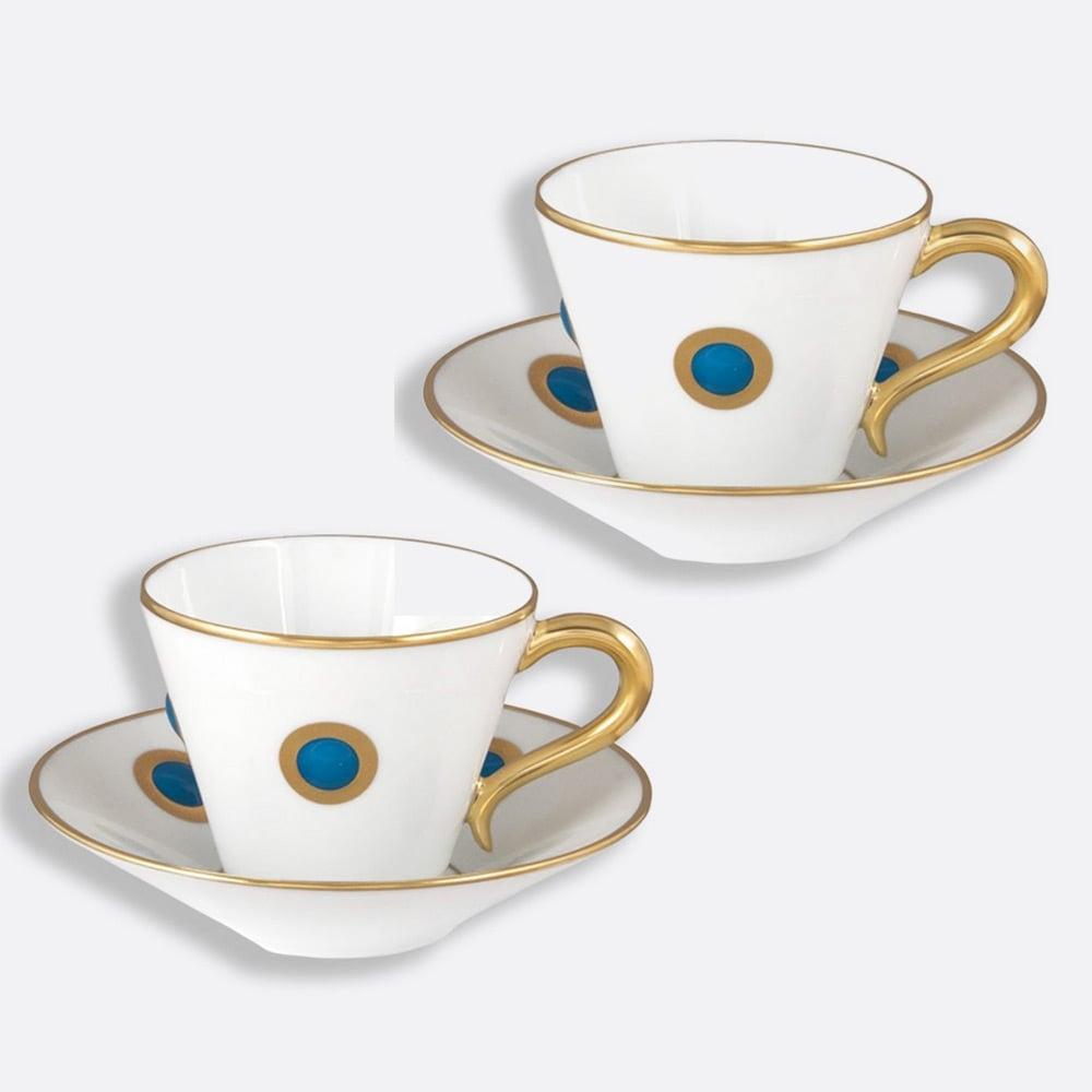 discount sale online NEW Bernardaud Ithaque Espresso Cup & Saucer ...