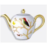 Bernardaud - Aux Oiseaux Tea Pot 12cm Shape Boule