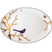 Bernardaud - Aux Oiseaux Oval Platter 38cm