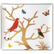 Bernardaud - Aux Oiseaux Rectangular Tray 22x19.5cm