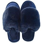 A.Trends - Cosy Luxe Slippers Small/Medium Midnight