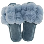 A.Trends - Cosy Luxe Pom Pom Small/Medium Dusty Blue