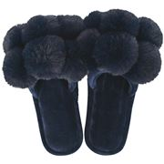 A.Trends - Cosy Luxe Pom Pom Small/Medium Midnight