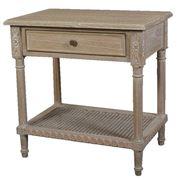Dasch - Polo Bedside/Side Table Oak Wash