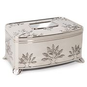 Whitehill - Silver Plated Musical Jewellery Box