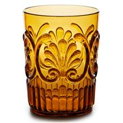Flair Decor - Acrylic Tumbler Scollop Amber