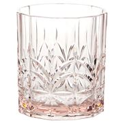 Flair Decor - Acrylic Crystal Cut Tumbler Pink
