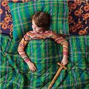 Kip & Co - Tartan Fun Quilted Bedspread Single