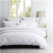 Private Collection - Ascot White Quilt Cover Set S/King 3pce