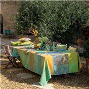 Garnier-Thiebaut - Mille Esprit Jardin Tablecloth 180x300cm