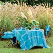 Garnier-Thiebaut - Mille Gardenias Round Tablecloth 180cm