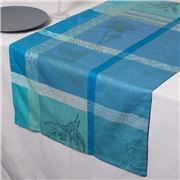 Garnier-Thiebaut - Mille Table Runner Gardenias 55x180cm