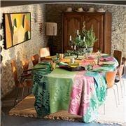Garnier-Thiebaut - Mille Palma Tablecloth Pop 180x175cm