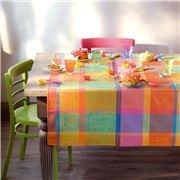 Garnier-Thiebaut - Mille Wax Tablecloth Creole 115x115cm