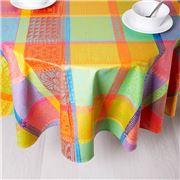 Garnier-Thiebaut - Tablecloth Mille Wax Creole 180cm Round