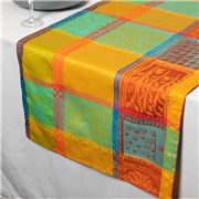 Garnier-Thiebaut - Mille Wax Table Runner Creole 55x180cm
