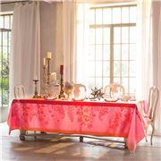 Garnier-Thiebaut - Ombelles Tablecloth Rose 174x174cm