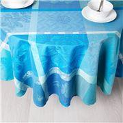 Garnier-Thiebaut - Mille Gardenias Tablecloth Round 175cm