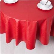 Garnier-Thiebaut - Tablecloth Mille Isaphire Round 175cm