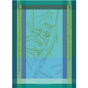 Garnier-Thiebaut - Tea Towel Koala Chlorophylle 56x77cm