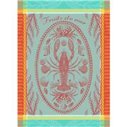 Garnier-Thiebaut - Maree Basse Tea Towel Lie De Vin 56x77cm