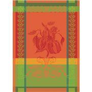 Garnier-Thiebaut - Tea Towel Poivron Paprika 56x77cm