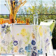Garnier-Thiebaut - Fleurs Champetres Tablecloth 155x155cm