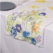 Garnier-Thiebaut - Fleurs Table Runner Champetres 50x155cm
