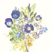 Garnier-Thiebaut - Fleurs Napkin Champetres 45x45cm