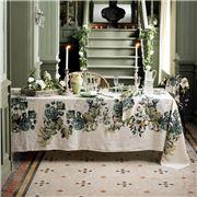 Garnier-Thiebaut - Giardino Tablecloth Naturel 115x115cm