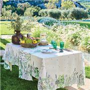Garnier-Thiebaut - Jardin Aromatique Tablecloth 155x155cm