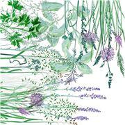 Garnier-Thiebaut - Jardin Napkin Aromatique 45x45cm