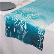 Garnier-Thiebaut - Silhouettes Table Runner Indigo 50x155cm