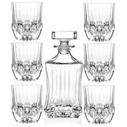 RCR Crystal - Adagio Whisky Set 7pce