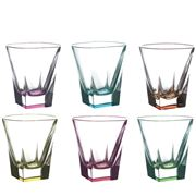 RCR Crystal - Fusion Colour DOF Tumbler Set 6pce 270ml