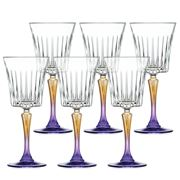 RCR Crystal - Gipsy Goblet Set 6pce 298ml