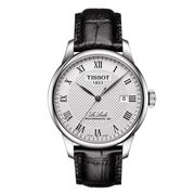 Tissot - Le Locle Powermatic 80 Silver Dial Blk Strap Watch