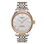 Tissot - Le Locle Powermatic 80 Silver Dial Rose Gold Watch